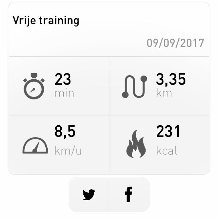 Start 2 Run - vrije training